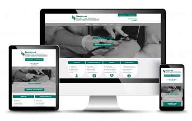 Health Care Website Design