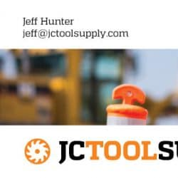 Jeffco Business Card Design Front