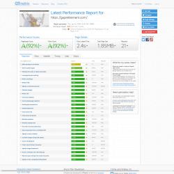 Website Design Speed Test for https gapretirement com GTmetrix