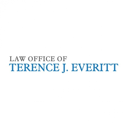 Law Firm Logo Design Law Office of Terence Everitt