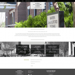 Lawfirm Web Designer for Warren Shackleford Thomas Attorneys