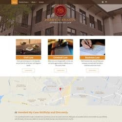 Perry & Brandt Attorneys Law Firm Website Design & Development