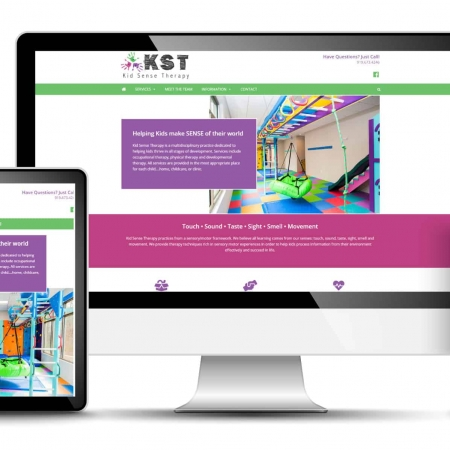 Physical Therapy Website Design