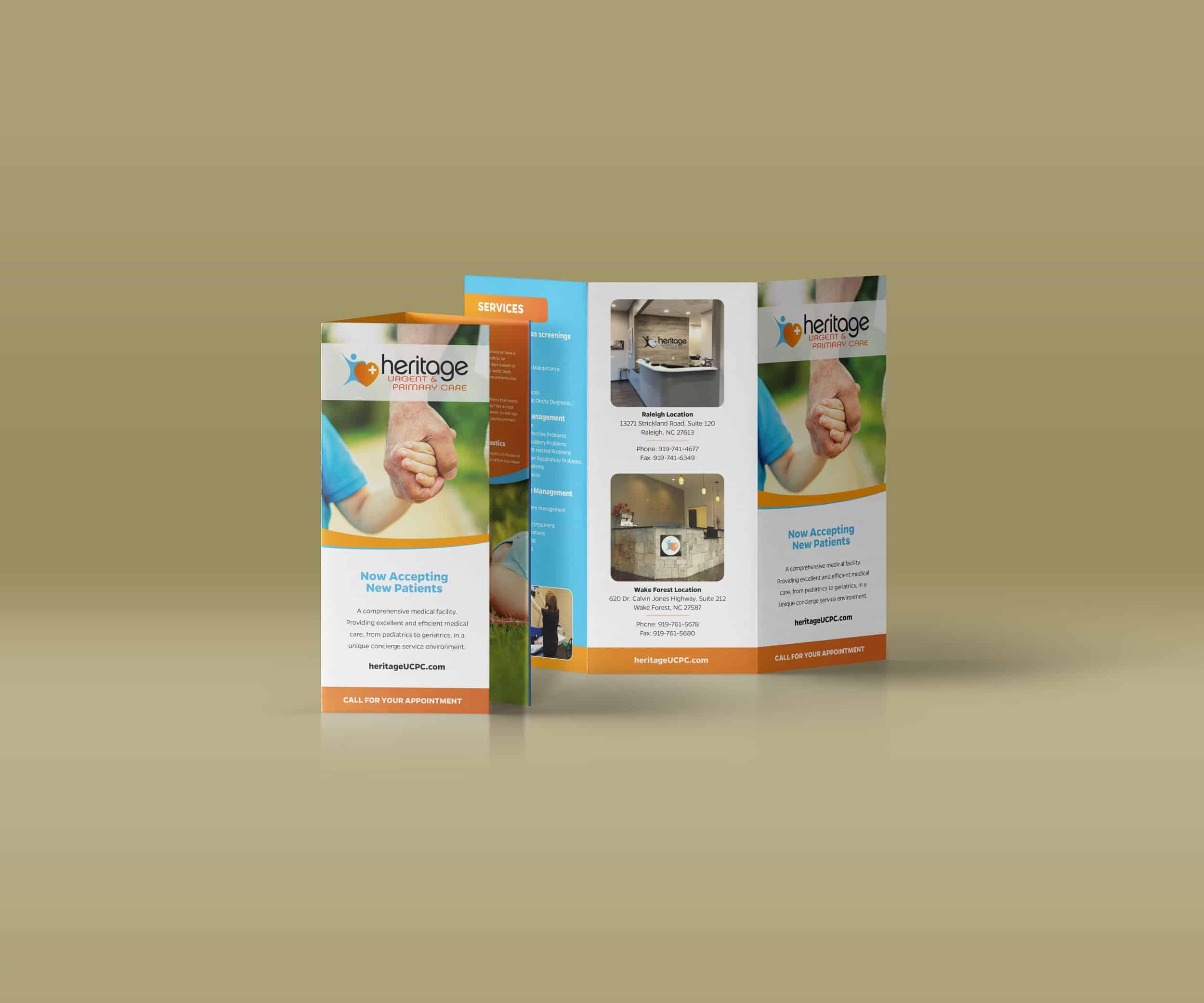 Urgent Care Brochure Design