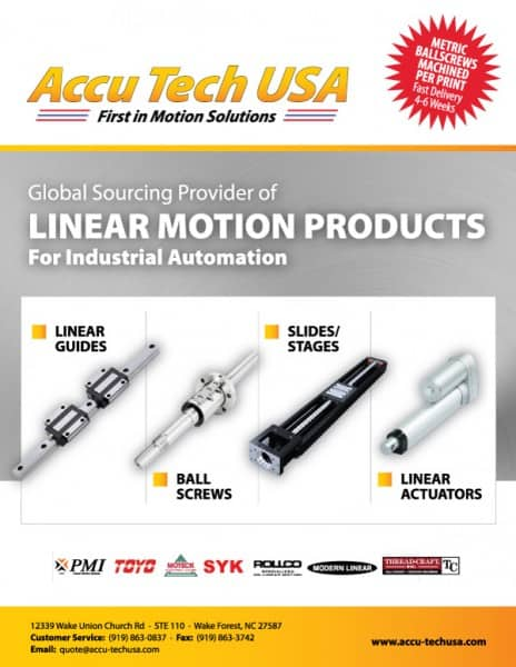 Accutech Manufacturing Flyer Design