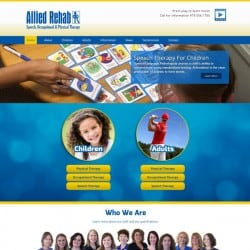 Allied Rehab Physical Therapy Web Design & Development
