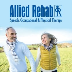 Allied Rehab Physical Therapy Rackcard Design Front