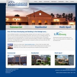 Ammons Building Web Design & Development
