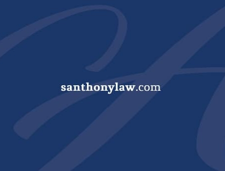 Anthony Law Office Business Card