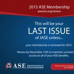 ASE Non Profit Magazine Cover Design