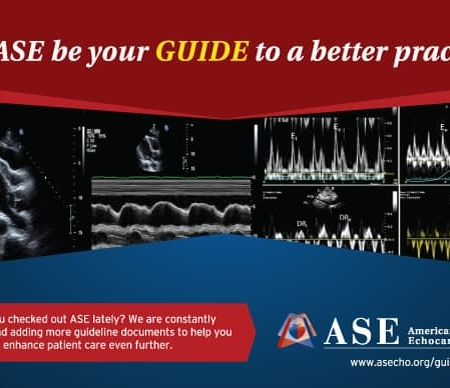 Echocardiography Postcard Design