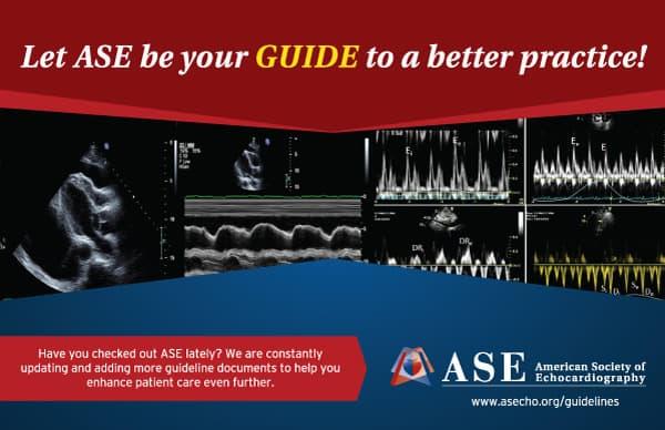 Echocardiography ASE Non Profit Postcard Design