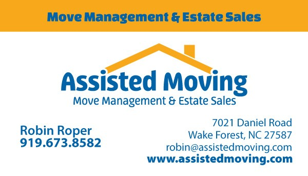 Assisted Moving Company Business Card Design