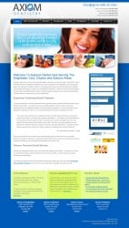 Axiom Dentist Dental Practice Web Design & Development