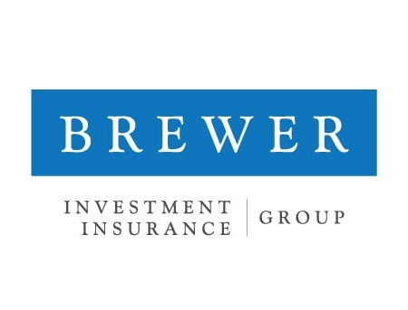 Brewer Insurance Investment Business Card Design Back