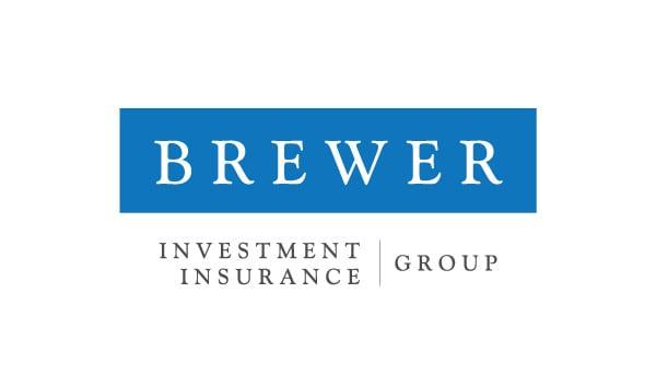 Brewer Insurance Investment Business Card Design Back