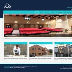 Cade General Contractor Website