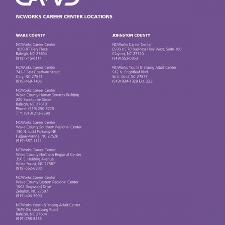 CAWD Non Profit Brochure Design & Folder