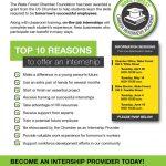 Chamber Program Business Flyer Design