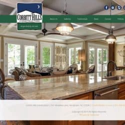 Corbitt Hills Construction Builder Web Design & Development