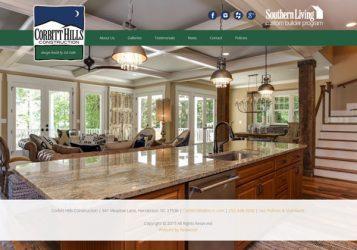 Corbitt Hills Construction Builder Web Design & Development