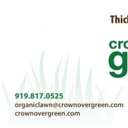 Crownover Green Landscaping Business Card Design