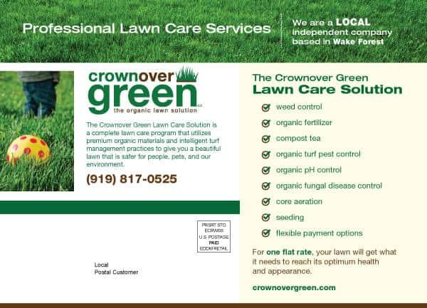 Crownover Green Postcard Design Back