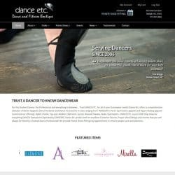 Dance Web Design & Development