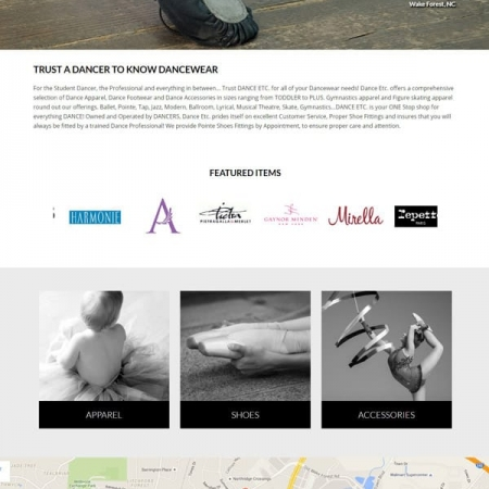 Dance Web Design & Development