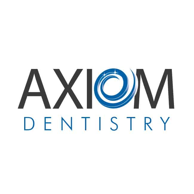 dentist logo design for axiom dentistry