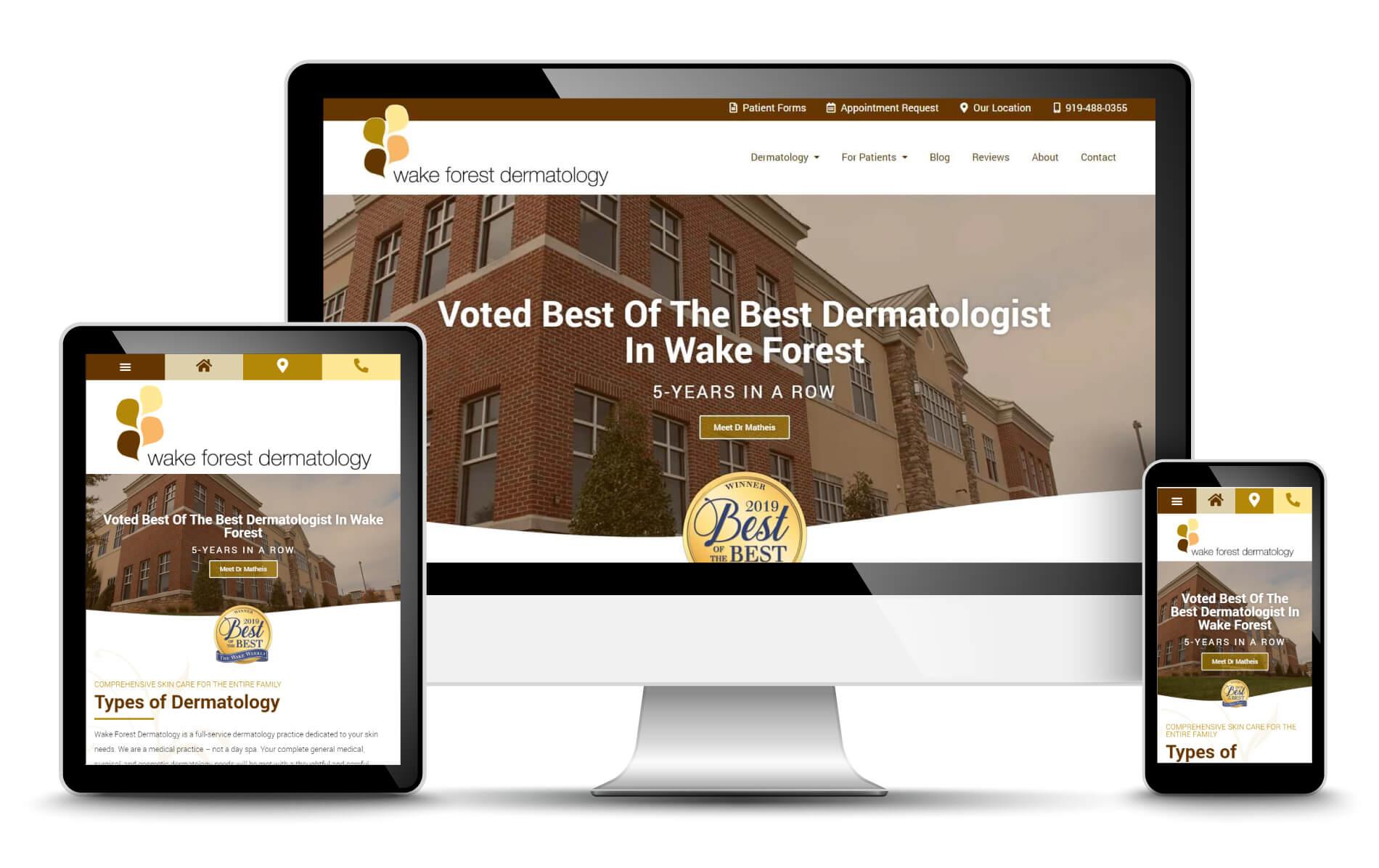 dermatology-website-design