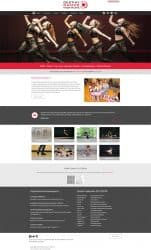 Destiny Dance Institute Dance Studio Website Design & Development