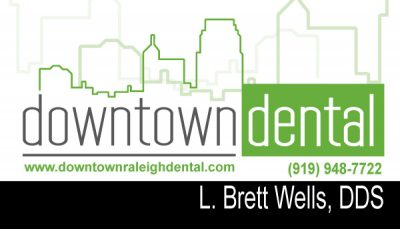 Downtown Dental Business Card Front