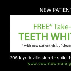 Downtown Dental Business Card Promo