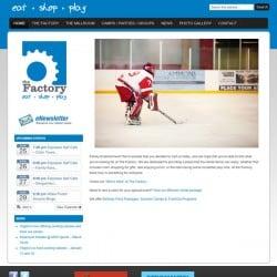 Sports Complex Website Design & Website Development