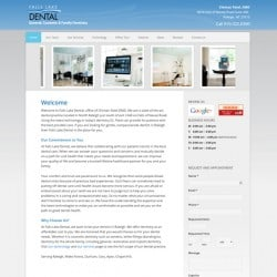 Falls Lake Dental Website Design