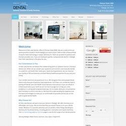 Falls Lake Dental Website Design