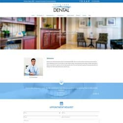 Falls Lake Dental Website Redesign
