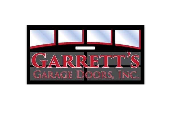 Garrett's Garage Door Logo Design