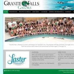 Granite Falls Swim Team Website Design & Development
