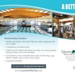 Swim & Athletic Club Fitness Postcards