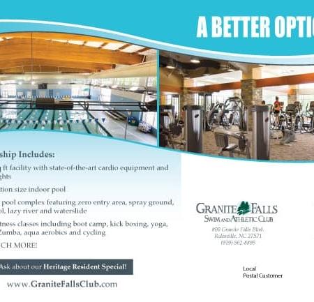 Swim & Athletic Club Postcards