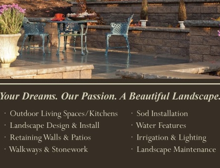 Grantlin Landscape Landscaping Business Card Design