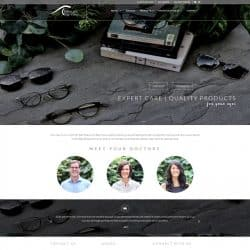 Heritage Eye Care Optometrist Web Design Development Wake Forest, NC