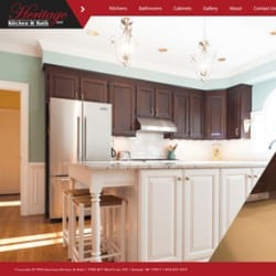 Heritage Kitchen & Bath General Contractor Web Design & Development