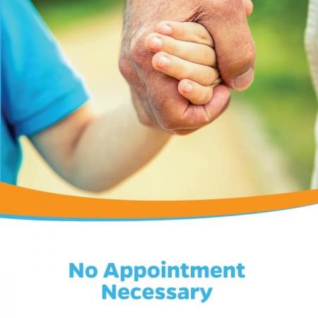 Heritage Urgent & Primary Care Health Care Brochure Design Cover