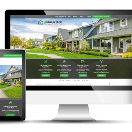 Home Inspection Website Design