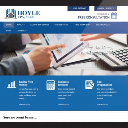 Hoyle Accounting Web Design & Website Development