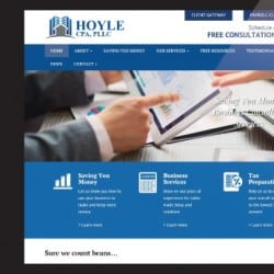 Hoyle Accounting Responsive Web Development