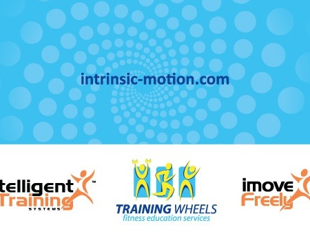 Intrinsic Motion Fitness Business Card Designs